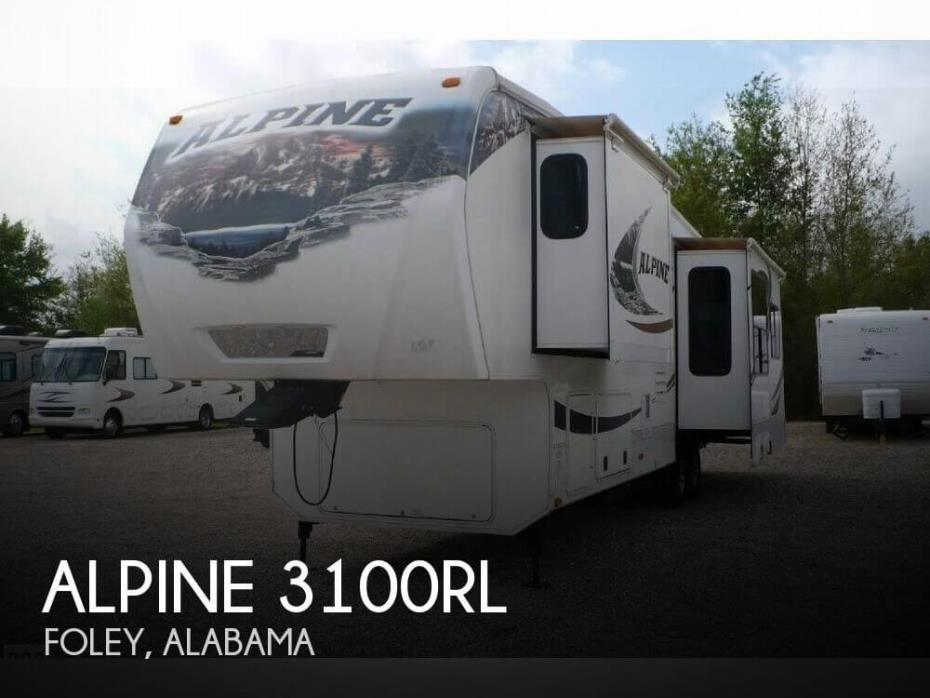 2012 Keystone Alpine 3100RL