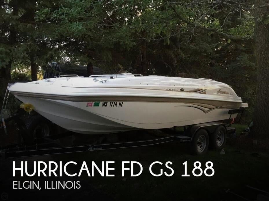 2004 Hurricane FD GS 188