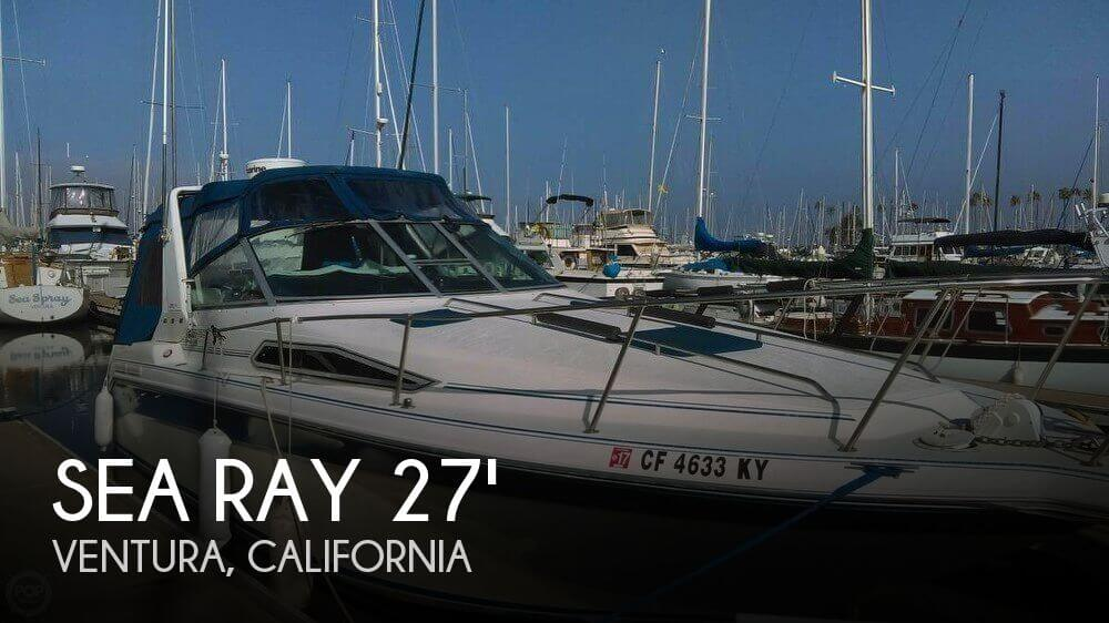 1990 Sea Ray 270 Sundancer DA