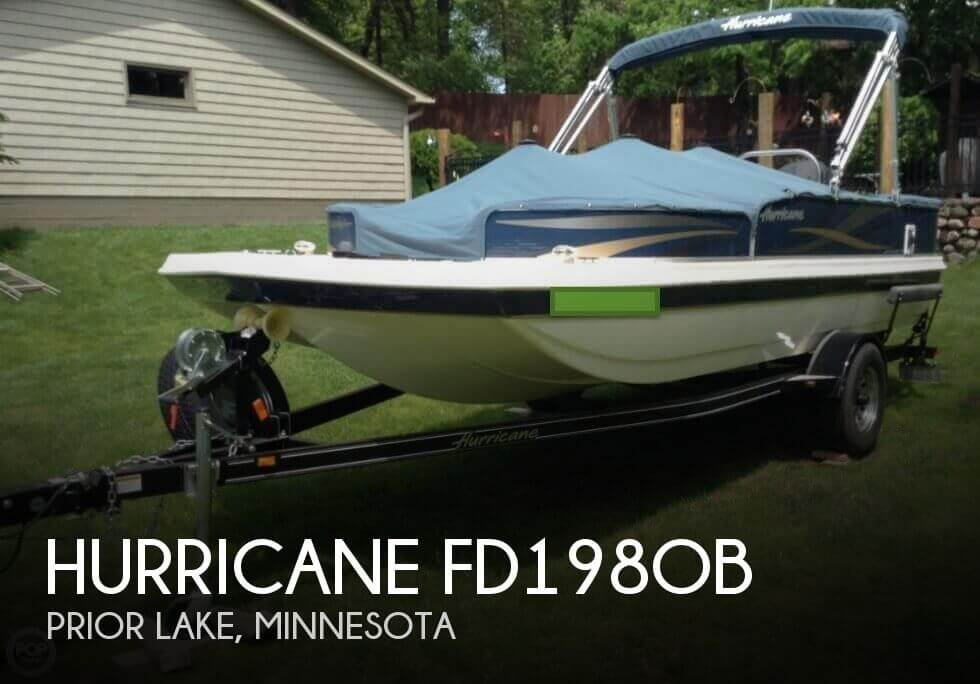 2015 Hurricane FD198OB