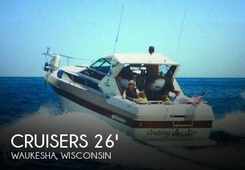 1985 Cruisers Yachts 267 Vee Express