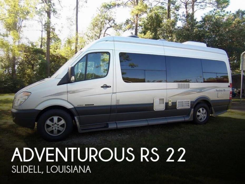 2008 Roadtrek Adventurous RS 22