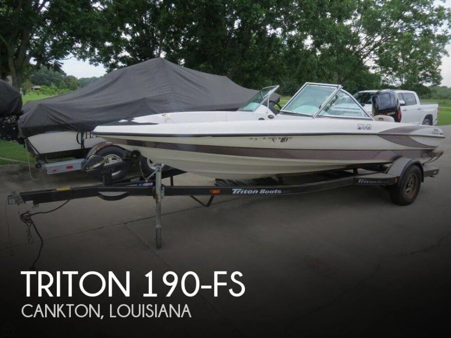 2002 Triton 190-FS
