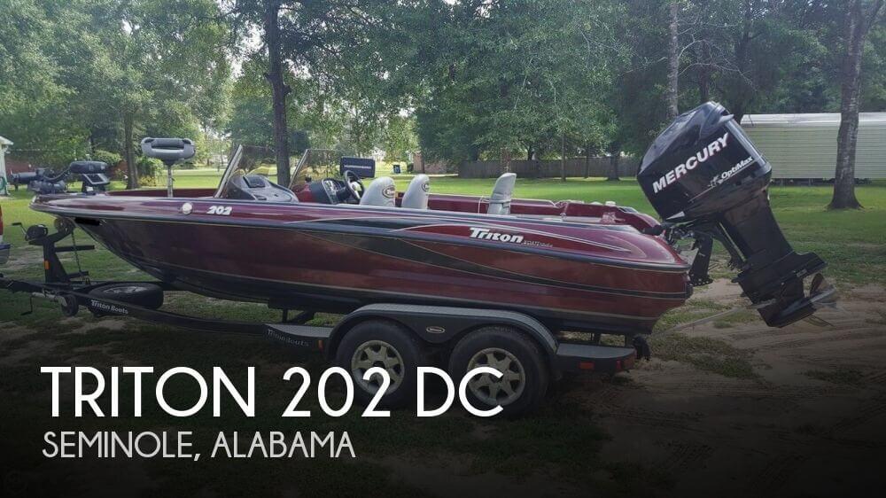 2007 Triton 202 DC
