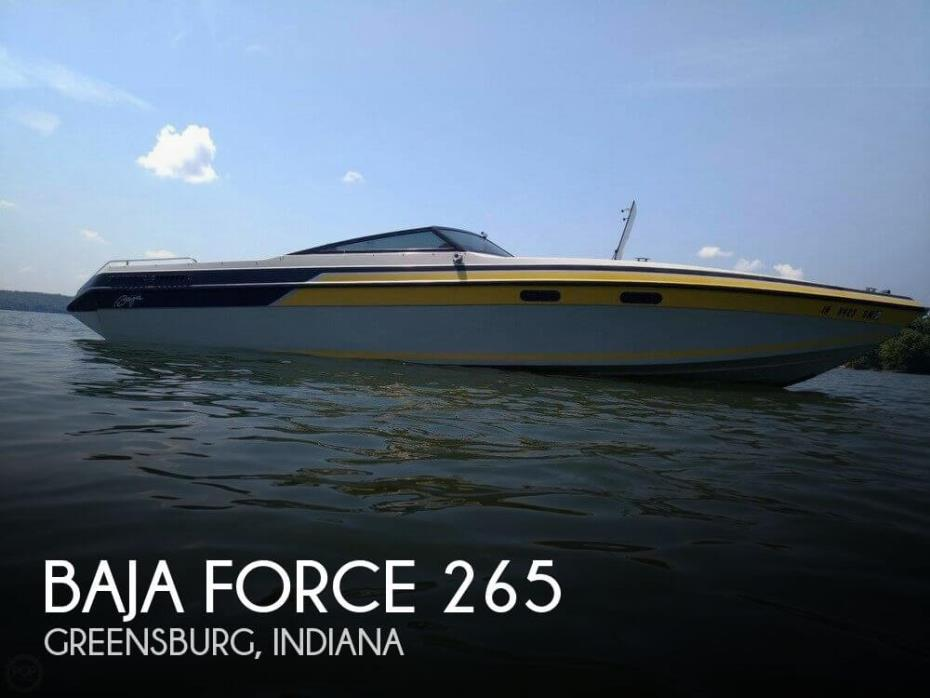 1989 Baja Force 265