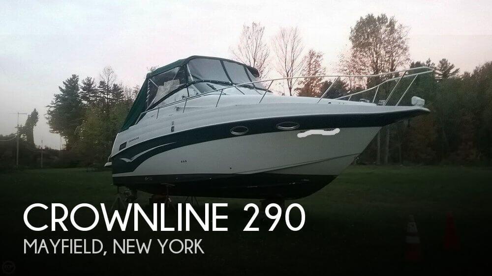 2002 Crownline 290