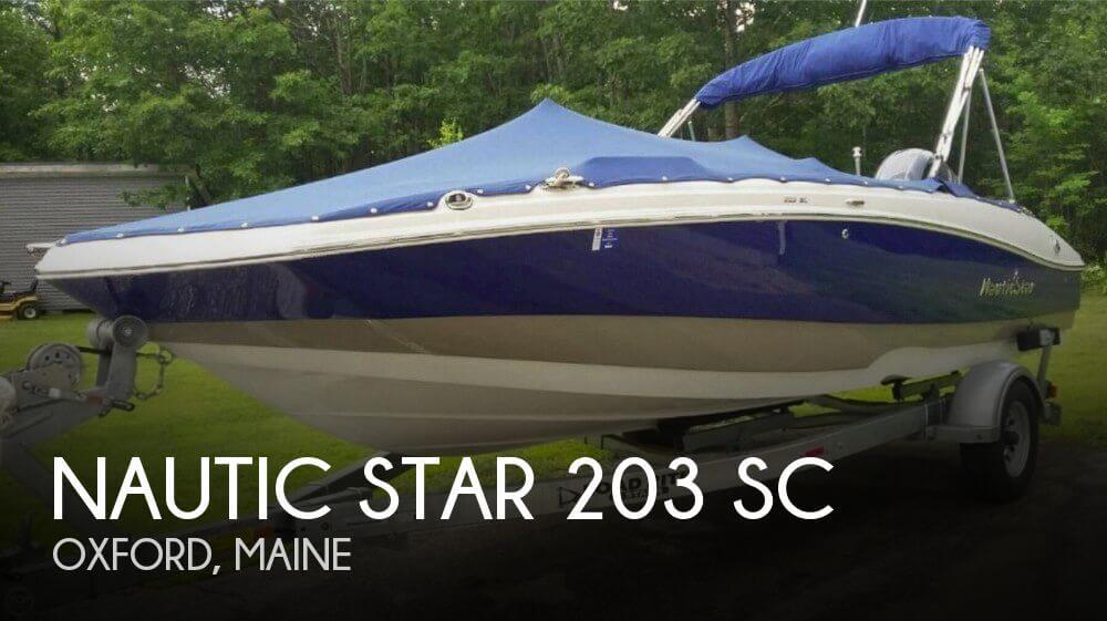 2016 Nautic Star 203 SC