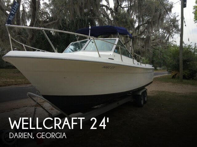 1981 Wellcraft 248 Offshore