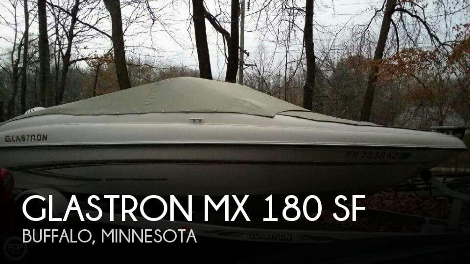 2005 Glastron MX 180 SF
