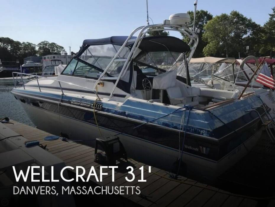 1983 Wellcraft 3100 Express Cruiser