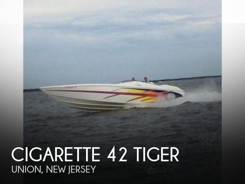 2000 Cigarette 42 Tiger