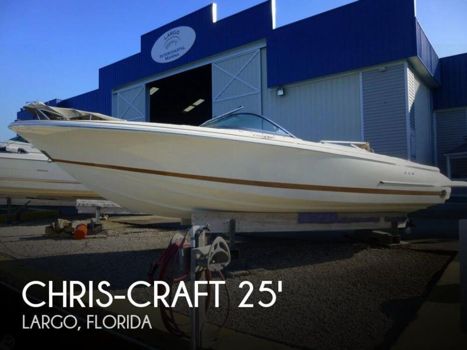 2007 Chris-Craft 25 Launch Heritage Edition
