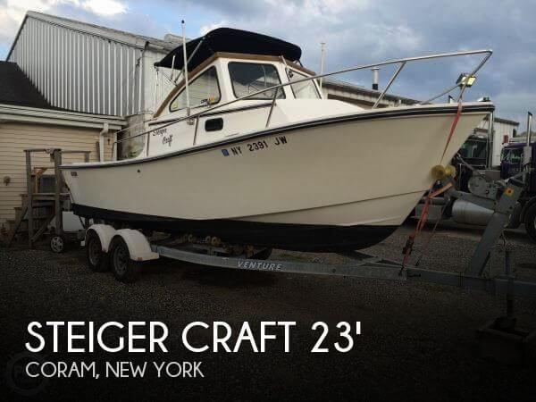 1989 Steiger Craft Block Island 23