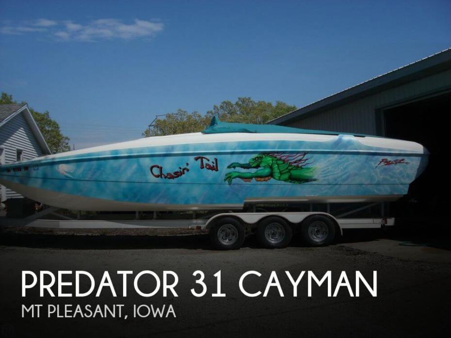 2002 Predator 31 Cayman