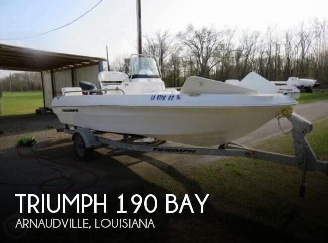 2011 Triumph 190 Bay