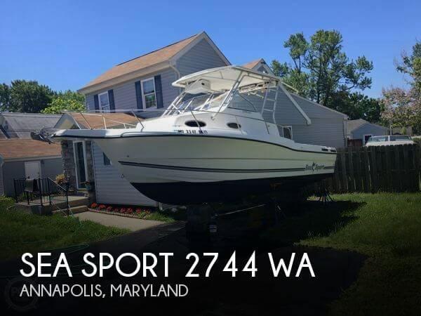 2000 Sea Sport 2744 WA