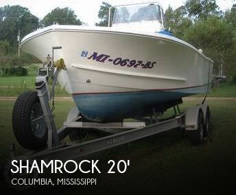 1997 Shamrock 20 CC Fisherman