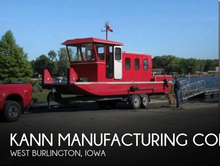 2004 Kann Manufacturing Corp Custom Mini Towboat