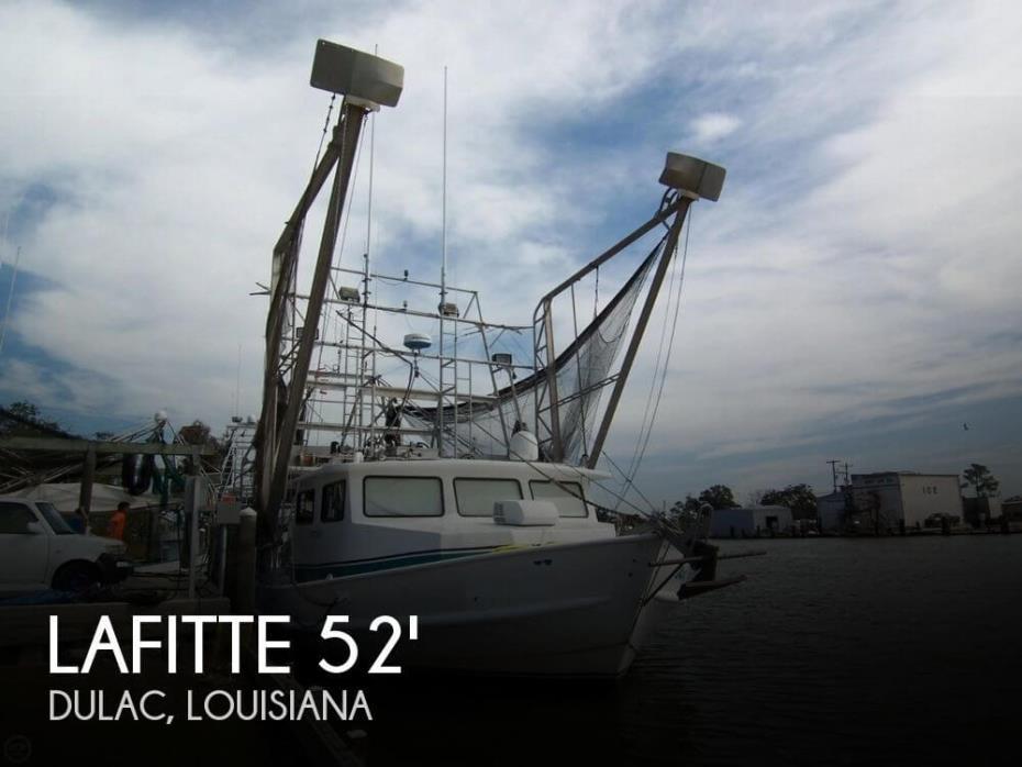 2007 Lafitte 52 x 20 Shrimper Skimmer