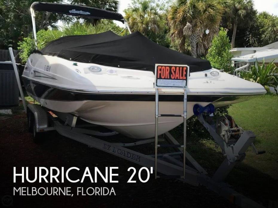 2009 Hurricane 202 FDGS OB