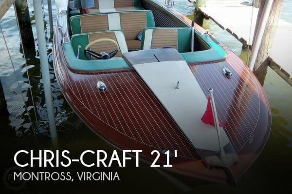 1961 Chris-Craft Model 21