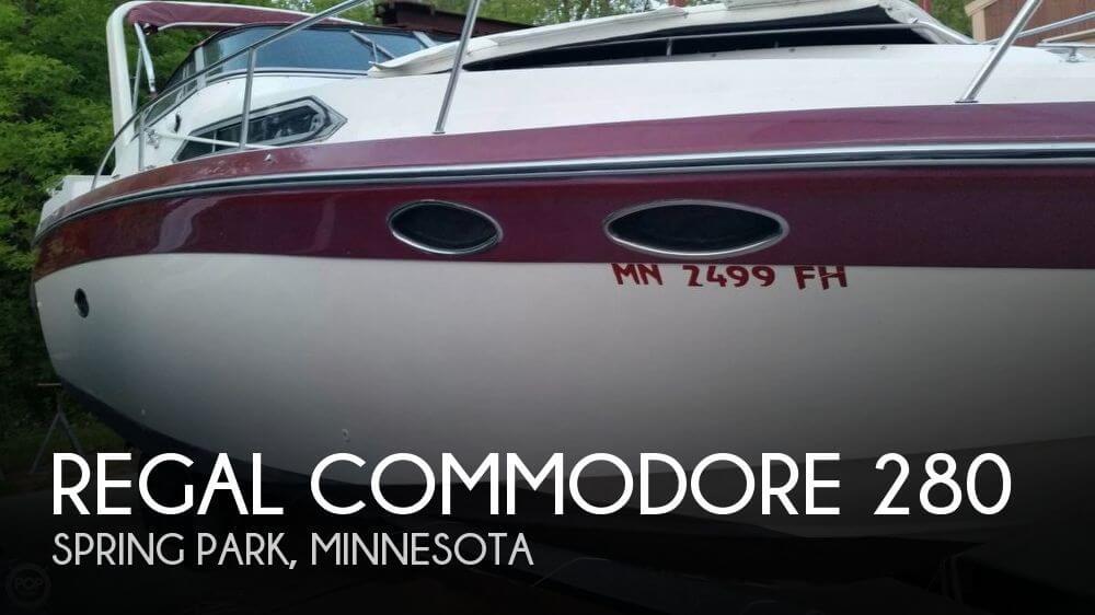 1989 Regal Commodore 280