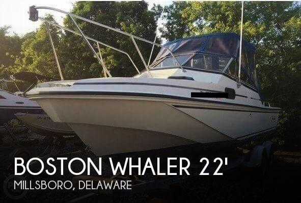 1988 Boston Whaler Revenge 22 W.T.