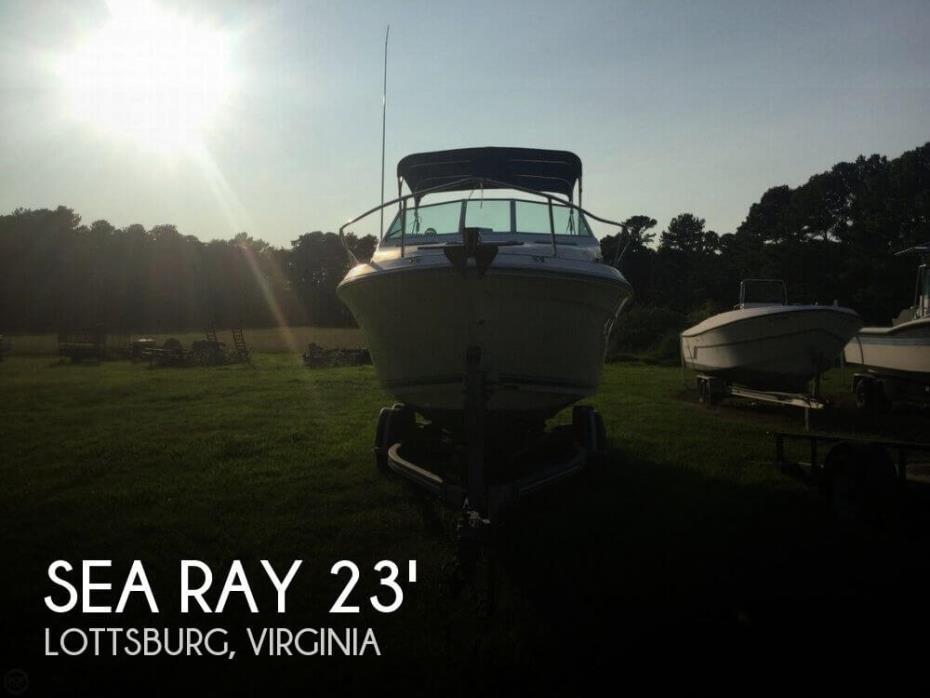 1992 Sea Ray 240 Sundancer