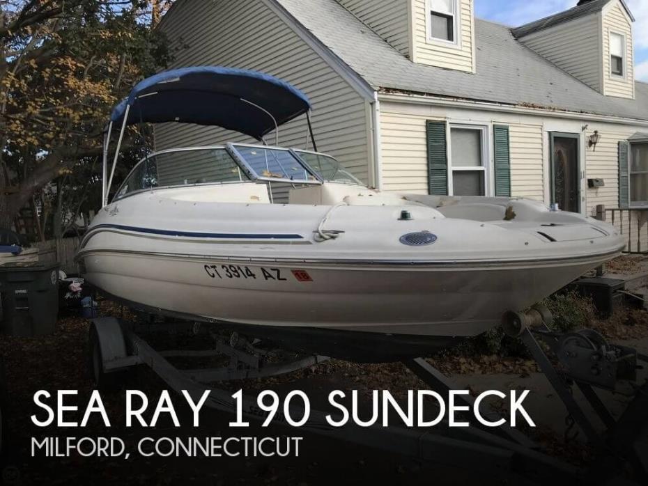 2000 Sea Ray 190 Sundeck