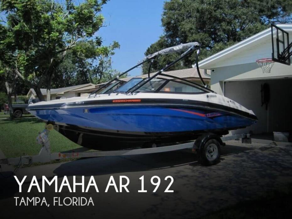 2014 Yamaha AR 192