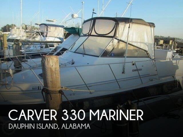 1993 Carver 330 Mariner