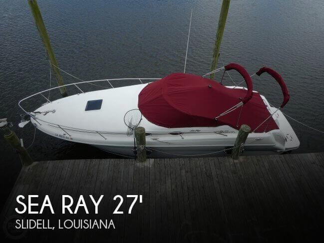 2001 Sea Ray 270 Sundancer