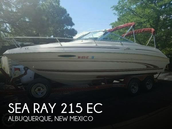 2000 Sea Ray 215 EC