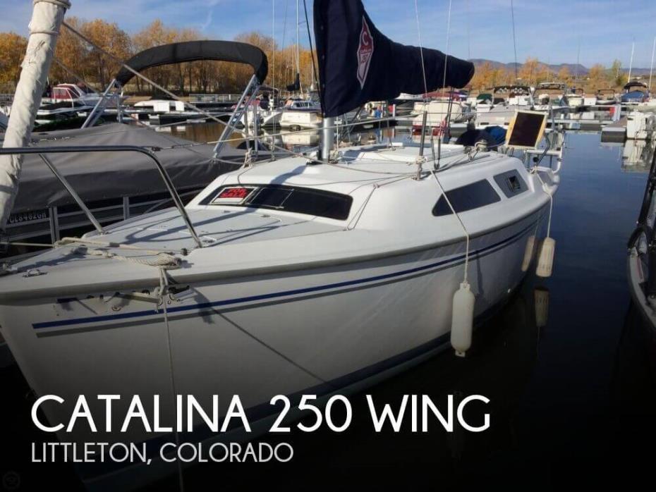 2004 Catalina 250 Wing