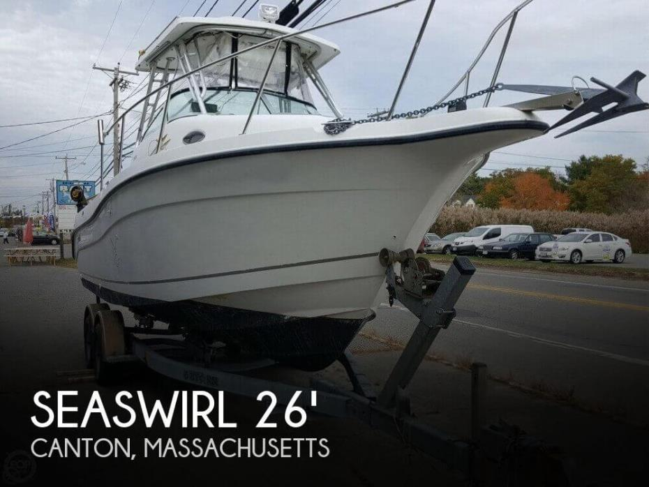 2002 Seaswirl Striper 2601