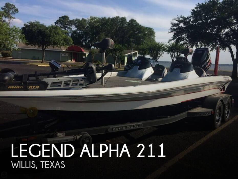 Legend Alpha 211 Boats for sale