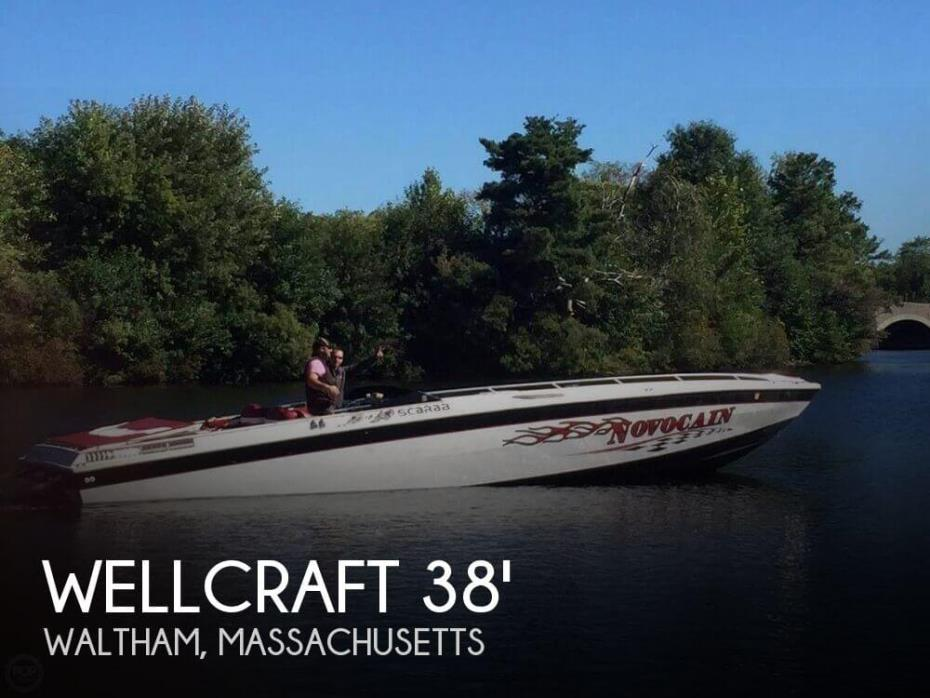 1987 Wellcraft Scarab 38 KV