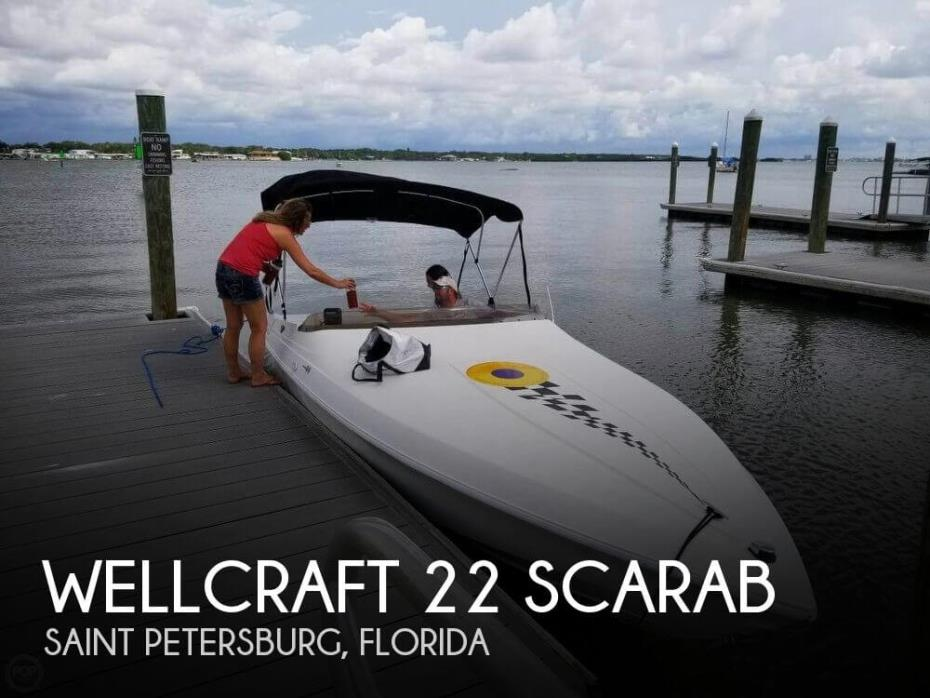 1995 Wellcraft 22 Scarab
