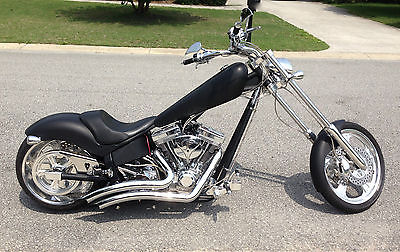 American Ironhorse : Texas Chopper Flat Black and Chrome, S&S 111 motor,Chopper, Vance and Hines Big Radius Exhaust