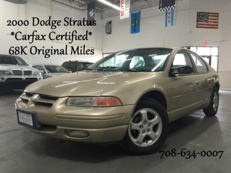 Dodge : Stratus ES Carfax Certified 1 Owner w/ 68K Original Miles!! Complimentary Airport Pick ups!