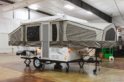 New 2015 207 Lite Fold Down Pop Up Camping Tent Trailer Light Popup Never Used