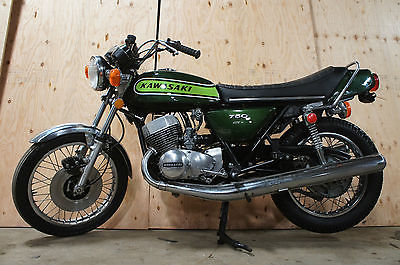 Kawasaki : Other 1974 kawasaki h 2 750 kh 750 kh 750 nice stock pipes very good condition