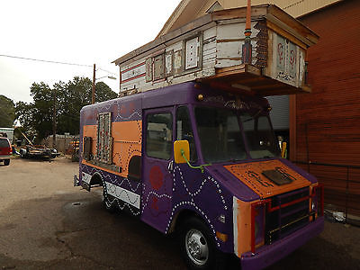Chevrolet : G20 Van RV 1980 s rv step van 1 ton burning man special hippy van