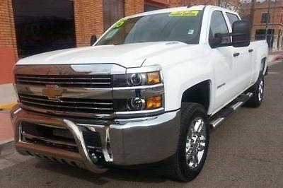Chevrolet : Silverado 2500 WT 2014 chevy 2500 hd 4 x 4 duramax diesel crew cab