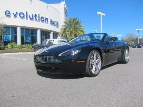 Aston Martin : Vantage Base Convertible 2-Door Convertible 4.7L CD Locking/Limited Slip Differential Rear Wheel Drive A/C ABS