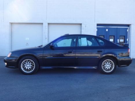 Subaru : Legacy GT Ltd AWD BIN 2001 SUBARU LEGACY GT LIMITED AWD AUTO ONE OWNER HANDYMANS SPECIAL