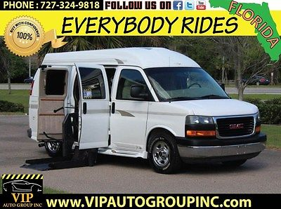 GMC : Savana GMC Savana RV G1500 2004 handicap wheelchair power lift power doors transfer seat eazylock clean