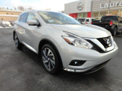 Nissan : Murano New 2015 Murano Platinum 3.5L V6 AWD Nav  New 2015 Murano Platinum 3.5L V6 AWD Nav Backup Camera Navigation Fresh Powder