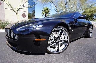 Aston Martin : Vantage V8 Vantage Coupe 06 rare 6 speed manual trans navigation leather power seats 20 forgiato wheels