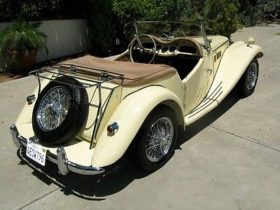 MG : T-Series TF 1954 mg tf roadster matching s soft top manual wire wheels weekend driver